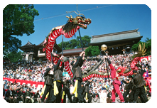 The Nagasaki Kunchi Festival Is Arguably Japans Most Famous Festival It Is An Autumn Festival Held At Suwa Shrine Which Has A History Of 370 Years